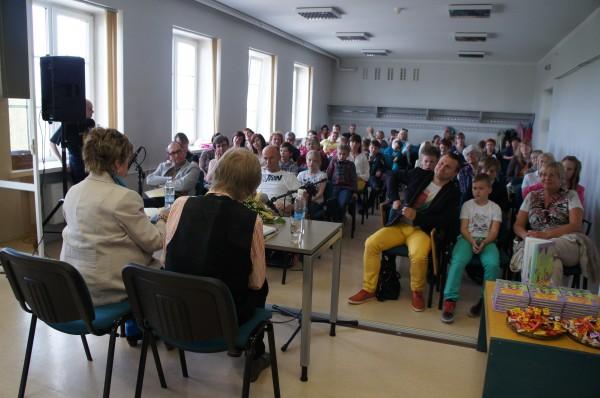 Poetry Riders Jukka Itkonen and Leelo Tungal visited Tartu Guest post by Anniina Ljokkoi