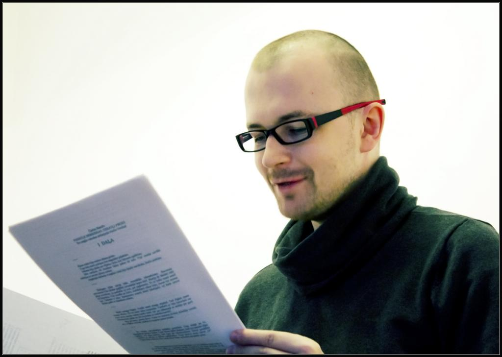 "Kārlis Vērdiņš: ""Today's Latvian poetry is juicy and visual."""