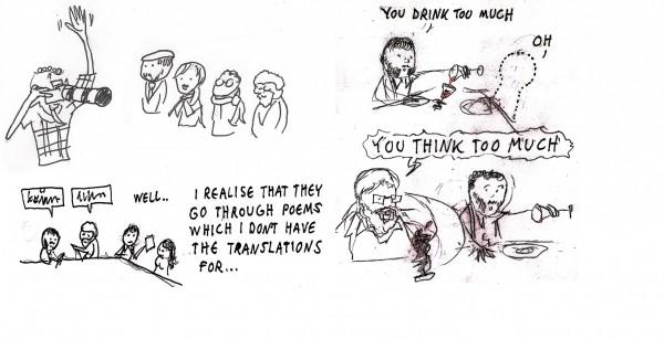 Comics travelogue 2012