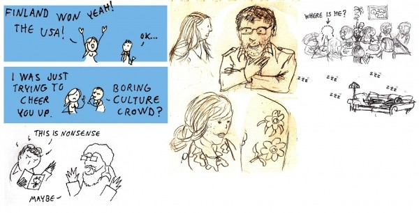 Comics travelogue 2012
