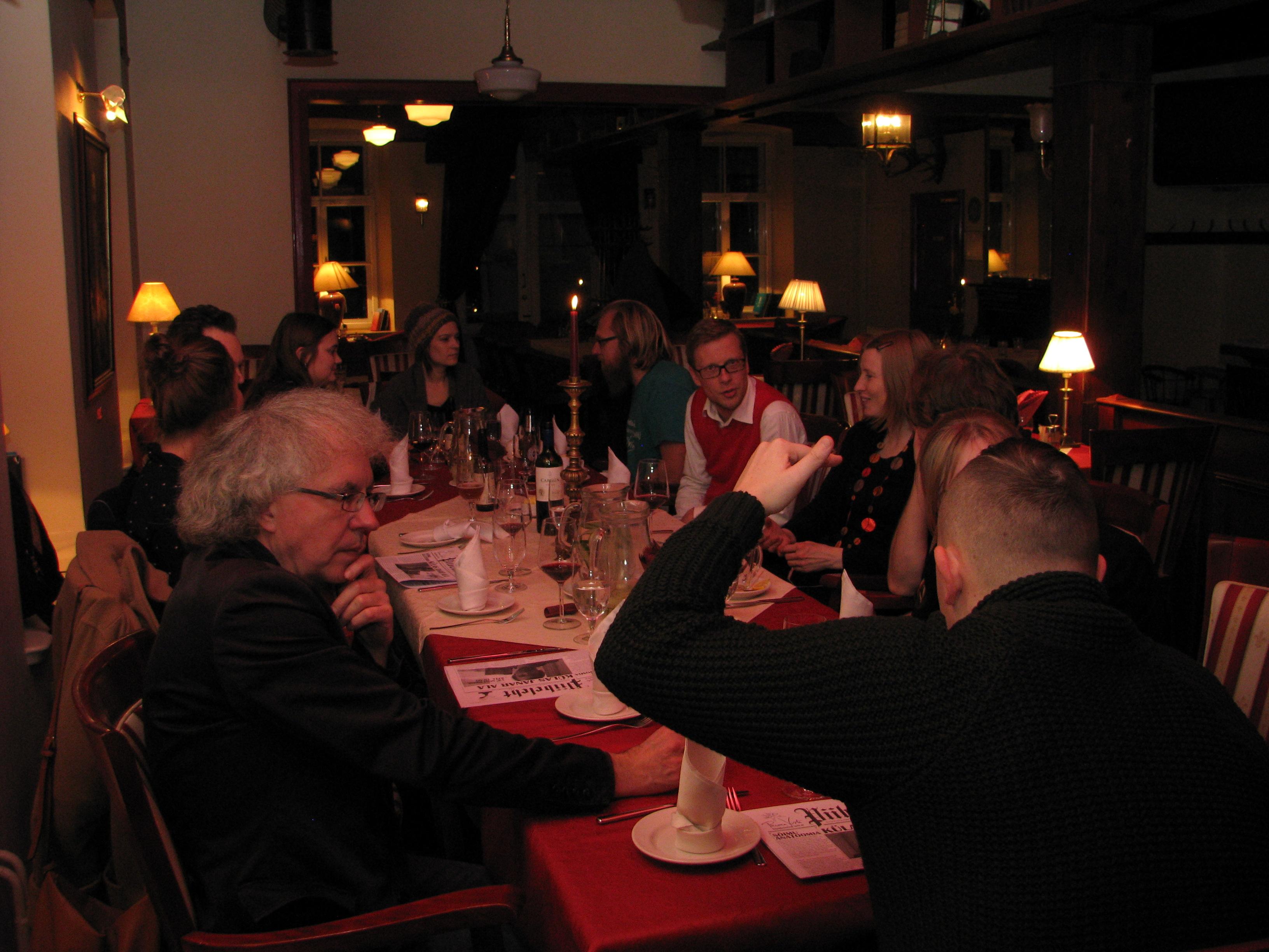 Poetry Ride in Tartu, 25 November 2014, 9.49 PM